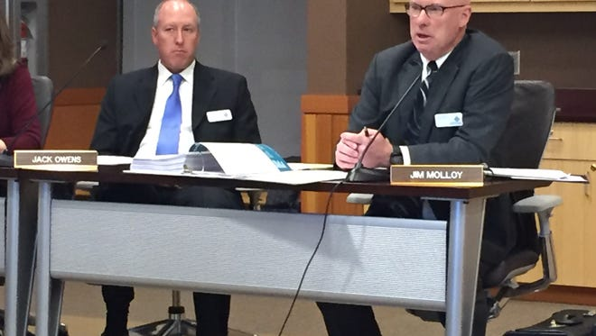 Montana State Fund Board Member Jim Molloy on Wednesday discusses a lawsuit the board filed against the state.