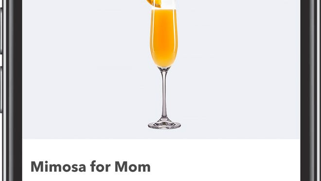 Smartphone app Ibotta is offering moms across the country a free mimosa Sunday.