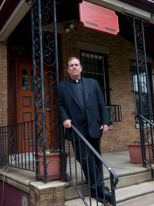 Fr. Jeff Putthoff with Hopeworks 'N Camden.