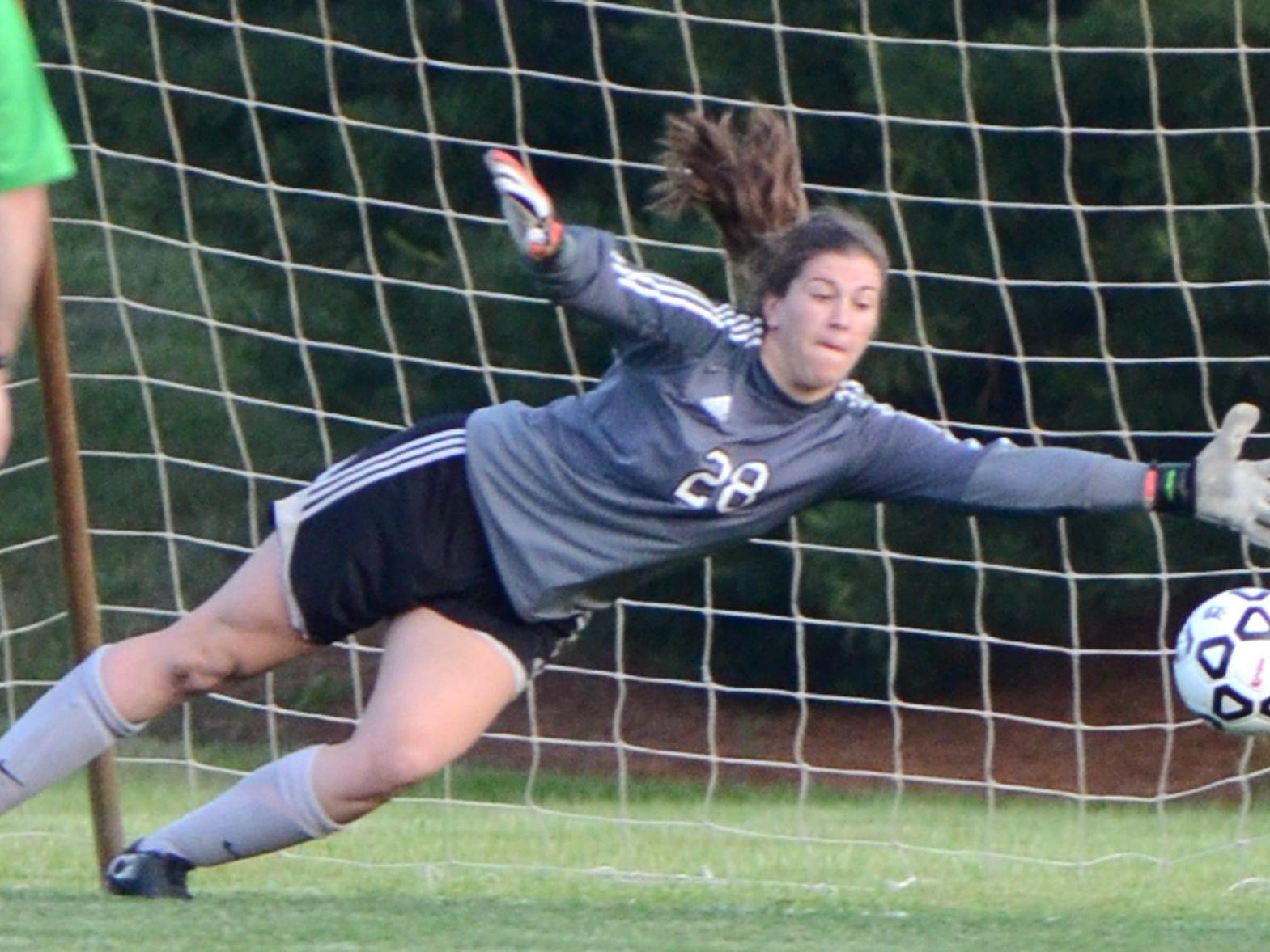 Northville senior goalkeeper Emily Maresh earned All-Area Player of the Year honors.