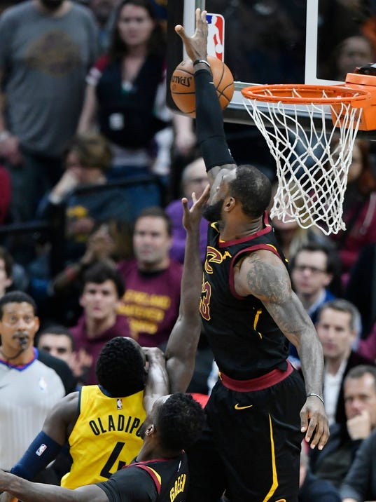 NBA: Playoffs-Indiana Pacers at Cleveland Cavaliers