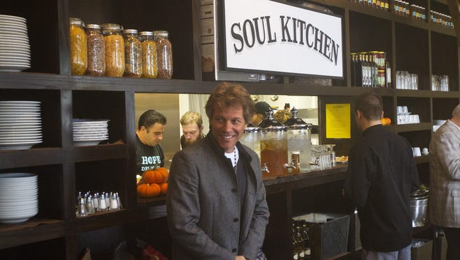 Jon Bon Jovi at the Soul Kitchen in Red Bank.