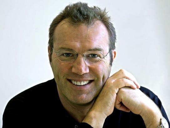 Author Andrew Morton, biographer of Princess Diana,
