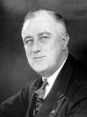 A Jan. 19, 1937, file photo of President Franklin D. Roosevelt.