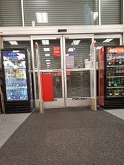 A woman says she was trapped inside a CVS store in