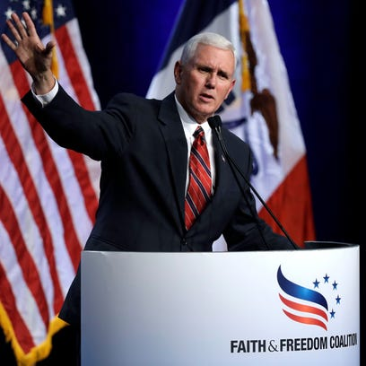 In Iowa, Mike Pence makes social conservative case for Donald Trump
