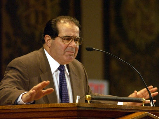 Image result for Antonin Scalia with bible