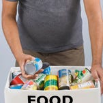 Fifth Third banks will be collecting food donations through April 24