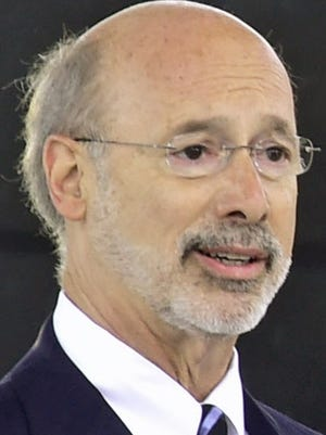 Gov. Tom Wolf has said he will veto a short-term spending plan brought forth by Republican lawmakers as a budget impasse drags on.