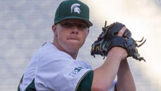 Left-handed starting pitcher Cam Vieaux will return to MSU for his redshirt junior season. He was a 19th-round draft pick of the Detroit Tigers in June.