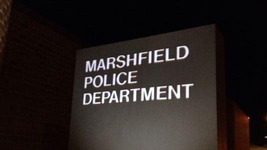 Reports from Marshfield Police Department and Wood County Sheriff Department.