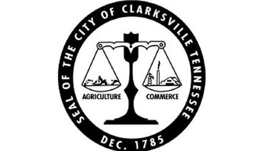 The seal of the City of Clarksville