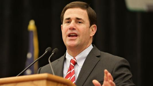 Arizona Gov. Doug Ducey announced his support for a Senate Republicanattempt to repeal the Affordable Care Act.