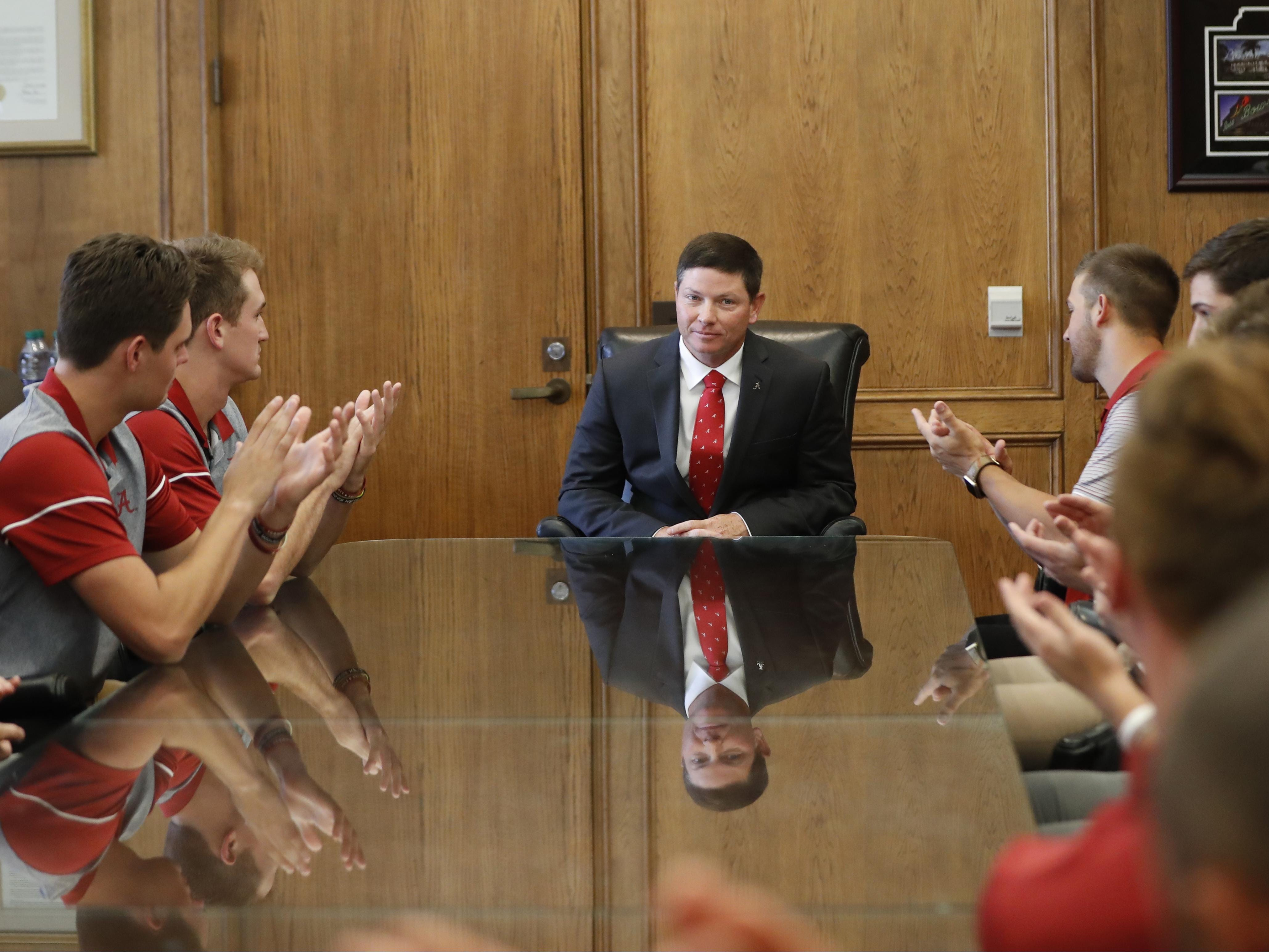 "New Alabama baseball coach Brad Bohannon says he'll have a ""players-first program."""