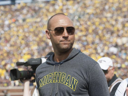 Kalamazoo native and Yankees legend Derek Jeter.