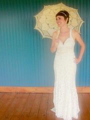 Laura Grieneisen was married in downtown Lafayette