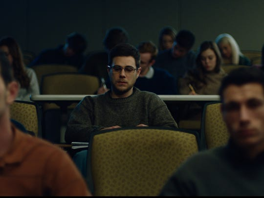 "Jared Abrahamson stars in ""American Animals."""