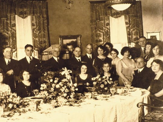 One of George Remus' lavish dinner parties at his Price