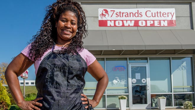 Iris Leverett opened her new salon at 8811 N. Allen Road earlier this month after a successful run at another site on Knoxville Avenue in Peoria. The new Seven Strands had been a Hair Cuttery and was already in move-in condition when Leverett decided to make the change.