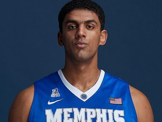 Memphis sophomore Karim Sameh Azab