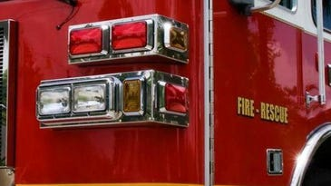 A file photo of a fire truck. Truckee firefighters are battling a structure fire that prompted authorities to close West River Street at U.S. 89 in Truckee.
