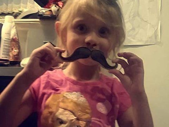 Four-year-old Dakota Wright was fatally struck by a hit-and-run van outside her Hanover home on Tuesday, Nov. 22, 2016. (Photo courtesy of GoFundMe.com)