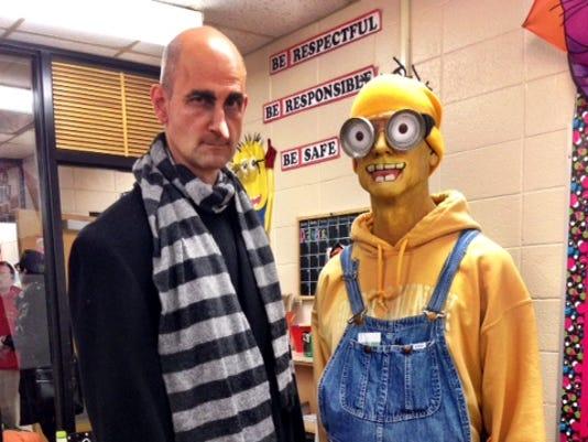 Mike Mockert as Gru and John Matysik, as his Minion.JPG