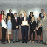 Fort Myers Beach Chamber of Commerce celebrated the grand opening of its mobile visitor center now in Time Square.