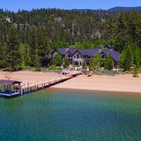 Inside a $47M Tahoe home with a 400-foot private beach