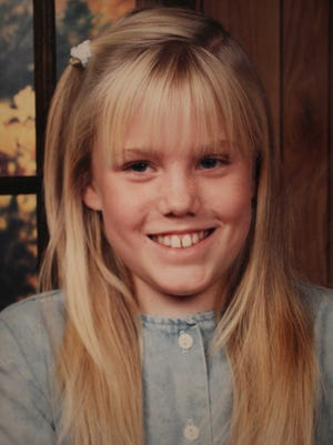 This Aug. 27, 2009 file family photo released by Carl Probyn shows his stepdaughter, Jaycee Lee Dugard who went missing in 1991. California lawmakers have approved a $20 million settlement with the family of Jaycee Dugard, who was kidnapped as a girl and held captive for 18 years by a paroled sex offender. Lawmakers approved the settlement Thursday with a 30-1 vote in the Senate and a 62-0 vote in the Assembly.