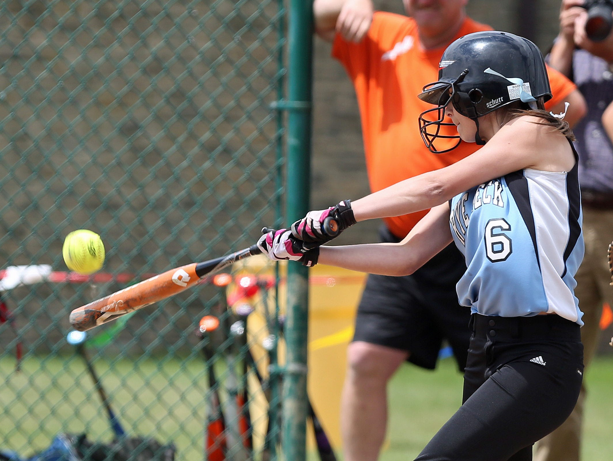 Marlboro defeated Rye Neck 4-3 in the girls softball Class B regional semi final in Rhinebeck June 4, 2015.