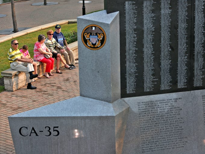 Family of John Cadwallader sits and reflects at the