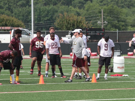 ULM Football Prospects Camp