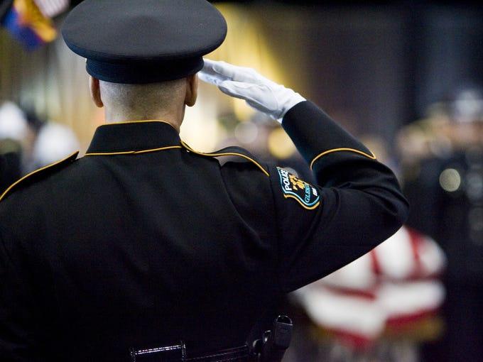 Feb. 3, 2010- Gilbert Police Lt. Eric Shuhandler was