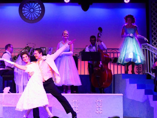 "A scene from Broadway Palm's ""Some Enchanted Evening"""