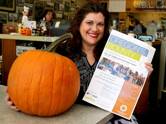 Stacy Nalley is promoting the Oregon's Bounty event