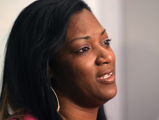 DeAndra Yates, whose son is severely impaired after