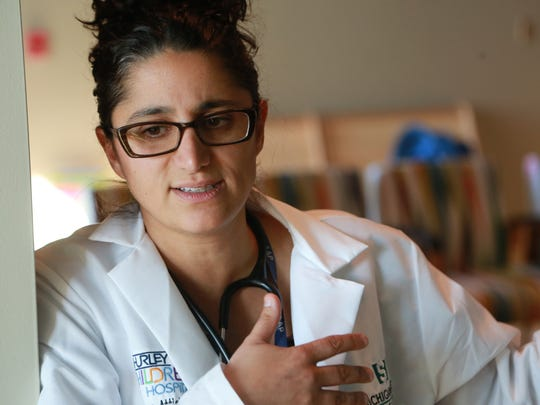 Dr. Mona Hanna-Attisha, director of Hurley Medical Center's pediatric residency program and an assistant professor in the Department of Pediatrics & Human Development at Michigan State University's College of Human Medicine.
