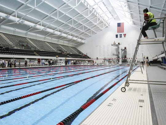 """IUIPUI is """"redefining world-class"""" with their grand re-opening of the school's Natatorium on June 7, 2016 in Downtown Indianapolis."""