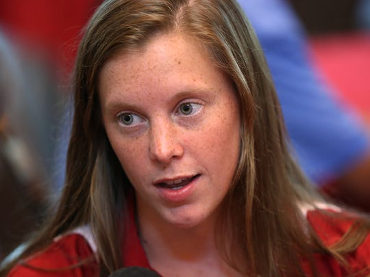 IU Olympic diver Amy Cozad