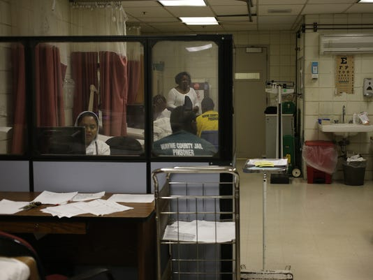 Wayne County Jail infirmary