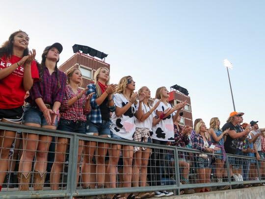 Ozark High School faced Willard High School for their