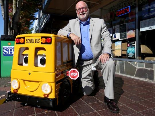 Michael Shields, with Salem-Keizer Public School Transportation