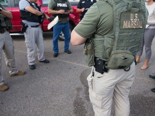U.S Marchal's, Corpus Christi Police Department and