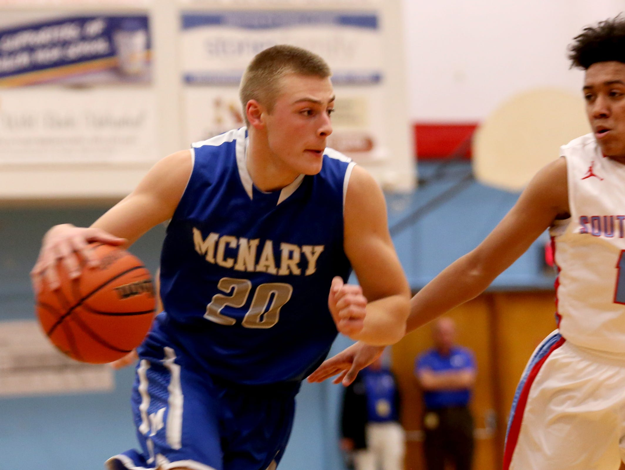 McNary's Cade Goff (left) is among the players who will compete in the Capitol City Classic this week.