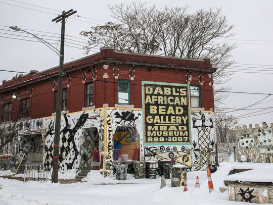 Dabls African Bead Museum is seen on Tuesday, December