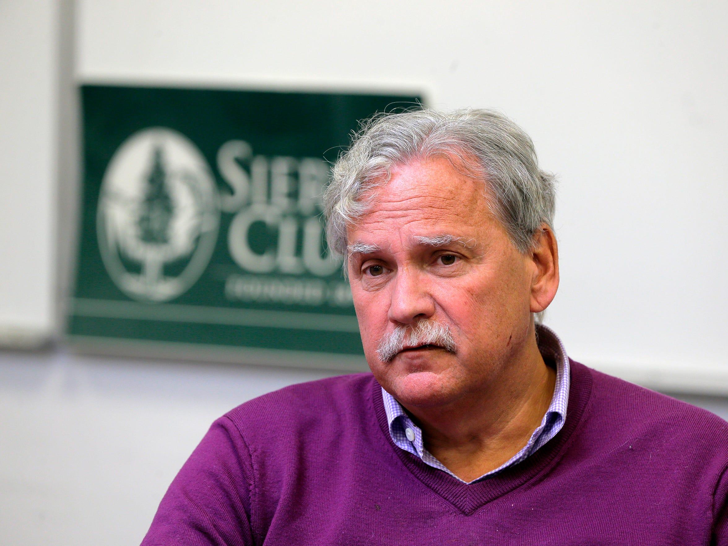 Jeff Tittel, chapter director the New Jersey Sierra