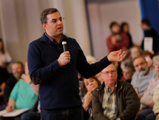 Photos: Amash faces critics, supporters at Battle Creek town hall