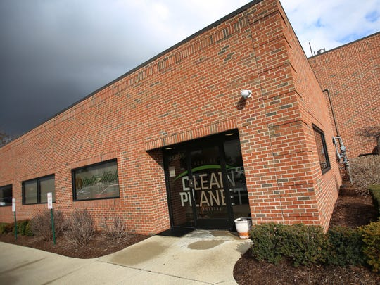 The production facilities at Clean Planet, a company