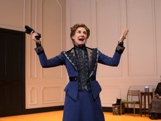 "Laurie Metcalf in ""A Doll's House, Part 2."""